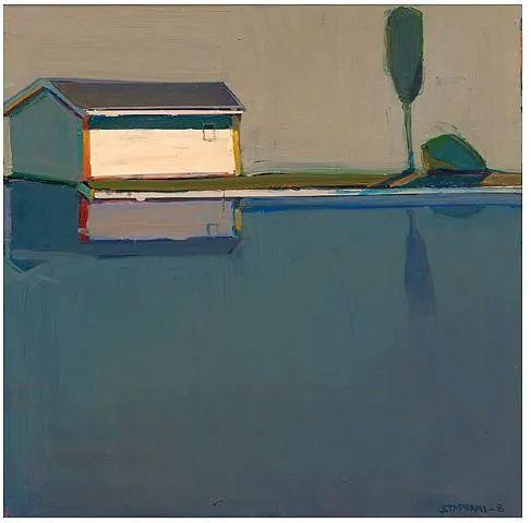 浓烈的色彩与极简的构图   莱蒙兹·斯塔普兰斯油画作品插图111
