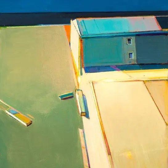 浓烈的色彩与极简的构图   莱蒙兹·斯塔普兰斯油画作品插图115