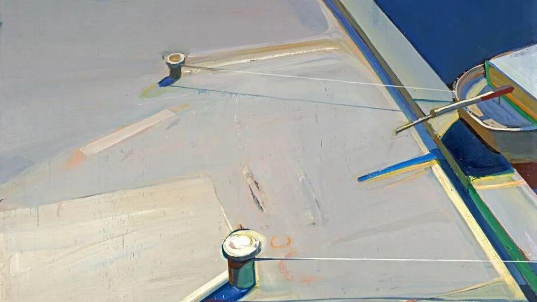 浓烈的色彩与极简的构图   莱蒙兹·斯塔普兰斯油画作品插图117