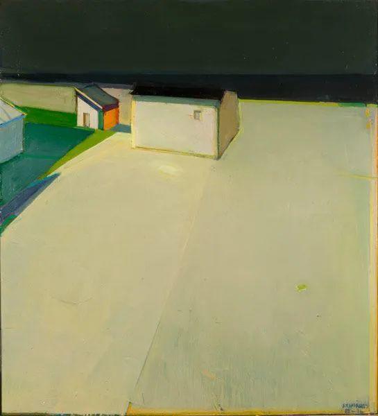浓烈的色彩与极简的构图   莱蒙兹·斯塔普兰斯油画作品插图121