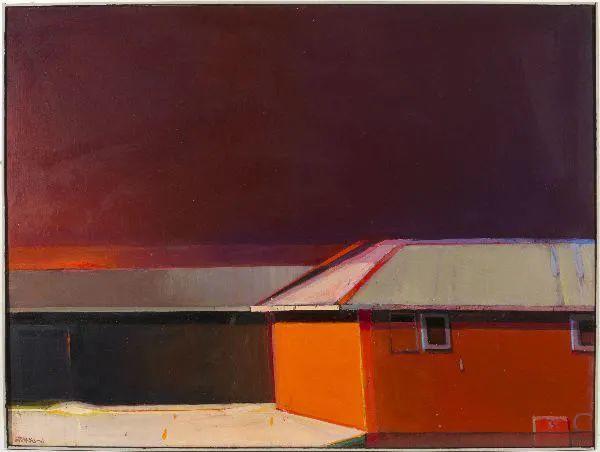 浓烈的色彩与极简的构图   莱蒙兹·斯塔普兰斯油画作品插图125