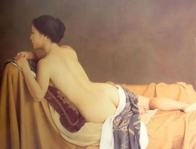 油画里的美背,感受欲遮还羞的含蓄之美插图69