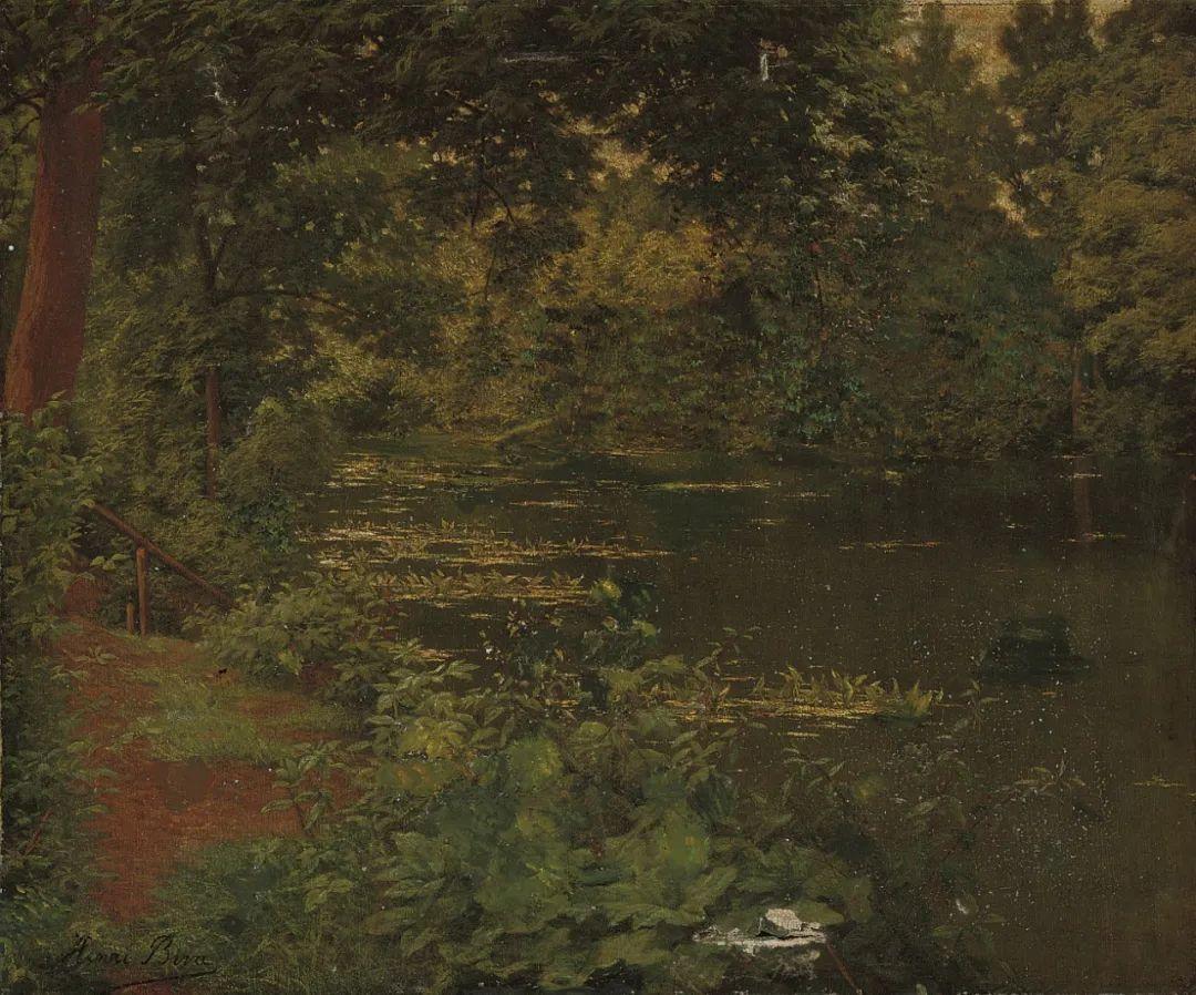 风景油画丨法国画家亨利·比瓦的风景油画作品插图27