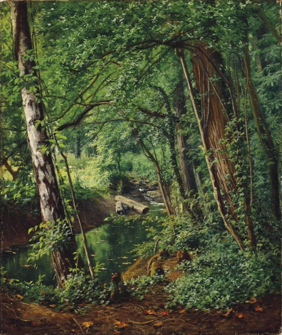 风景油画丨法国画家亨利·比瓦的风景油画作品插图31