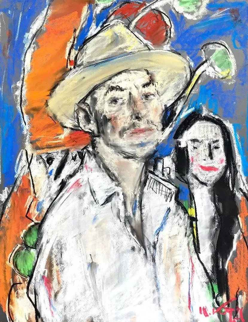 他画风潇洒自如,在世界画坛独树一帜!插图68