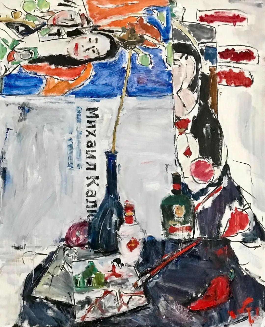 他画风潇洒自如,在世界画坛独树一帜!插图130
