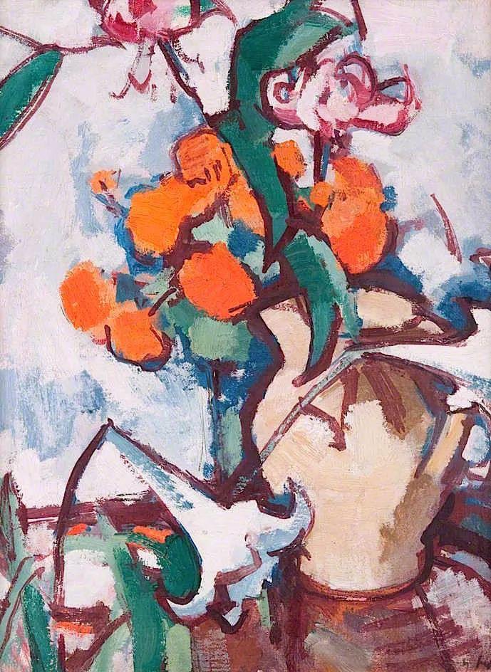 花卉篇,苏格兰色彩画家佩普洛插图5