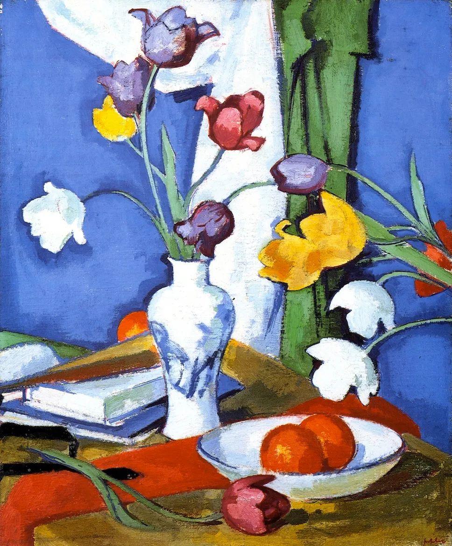花卉篇,苏格兰色彩画家佩普洛插图11