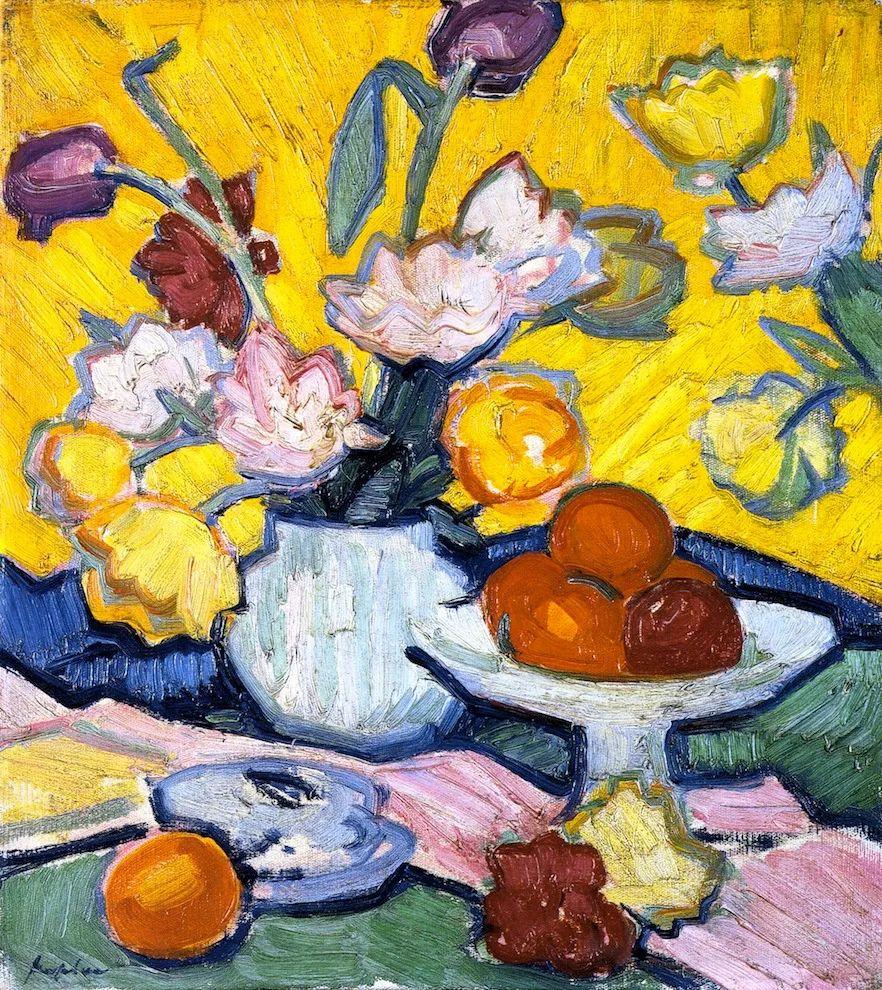 花卉篇,苏格兰色彩画家佩普洛插图13