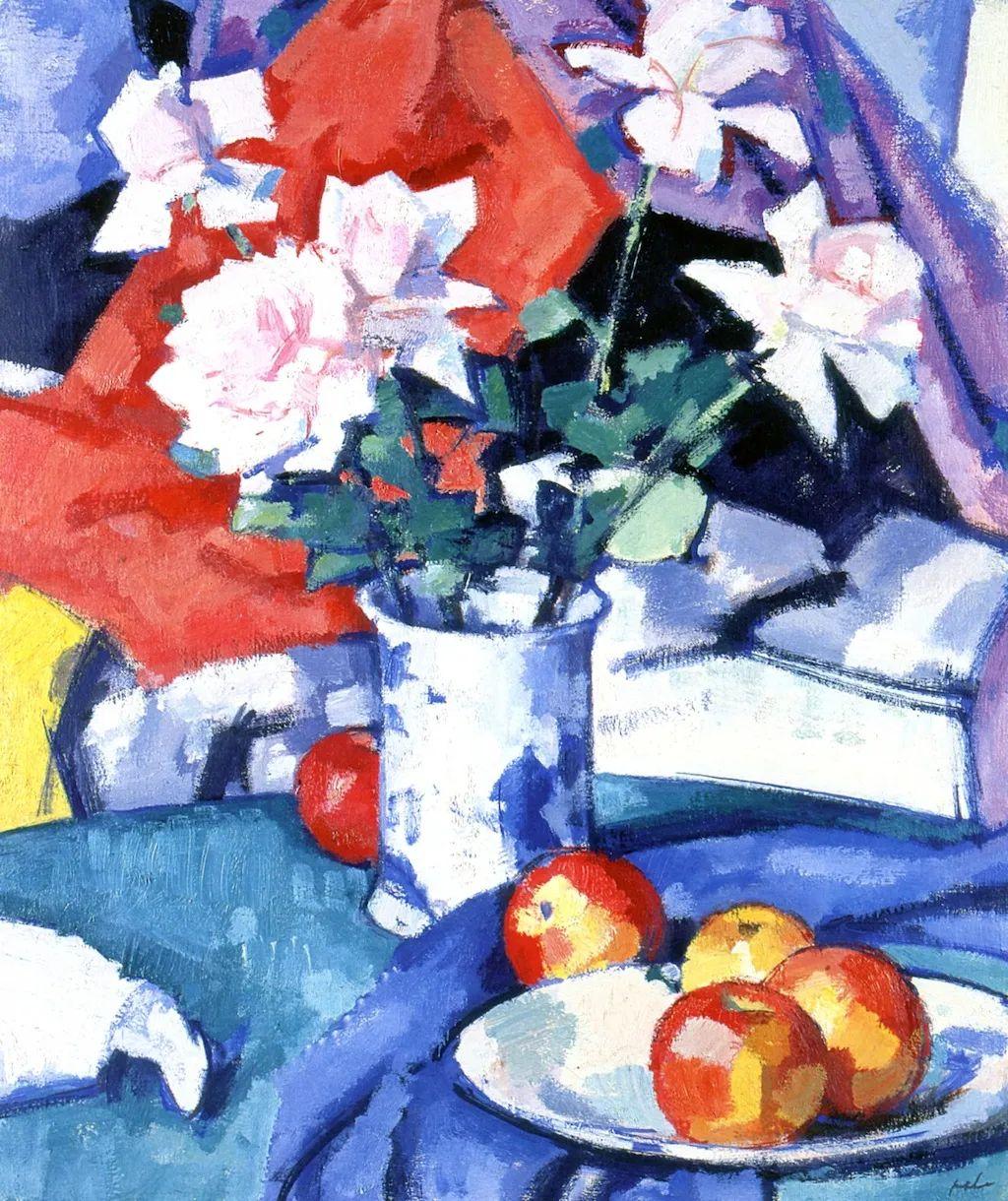 花卉篇,苏格兰色彩画家佩普洛插图25