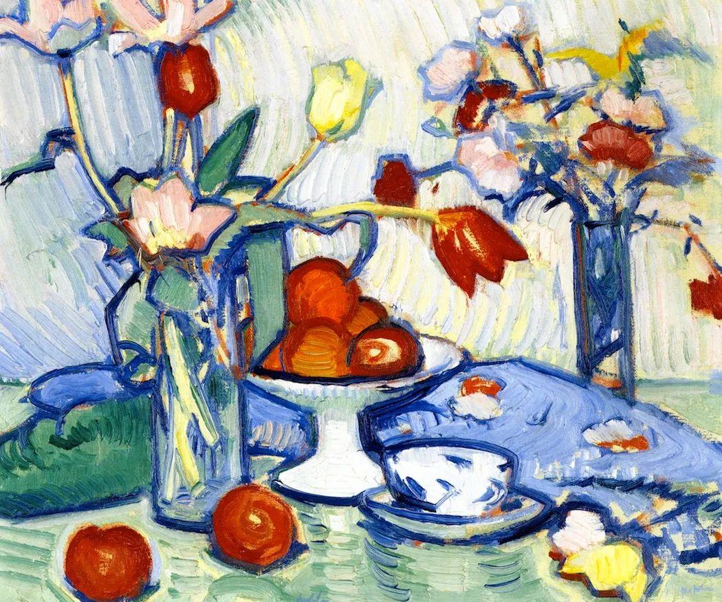 花卉篇,苏格兰色彩画家佩普洛插图31