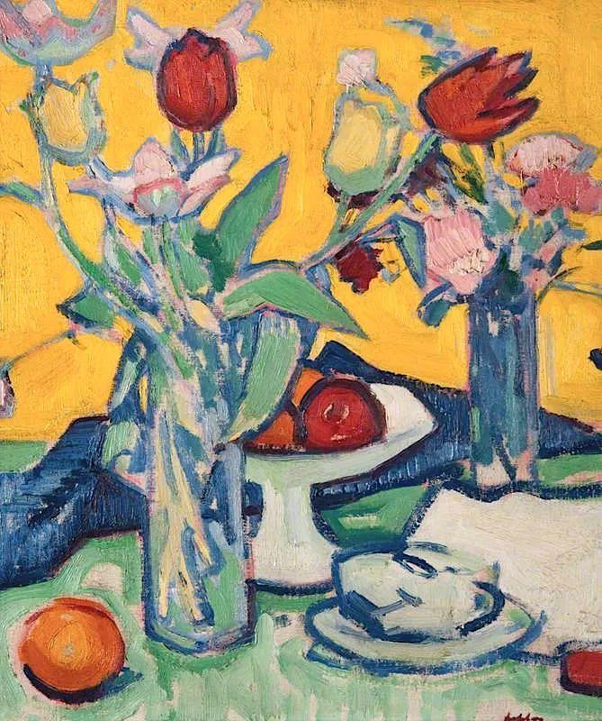花卉篇,苏格兰色彩画家佩普洛插图33