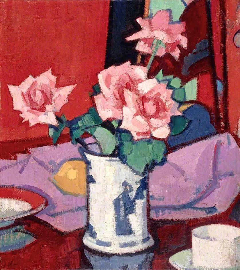花卉篇,苏格兰色彩画家佩普洛插图37