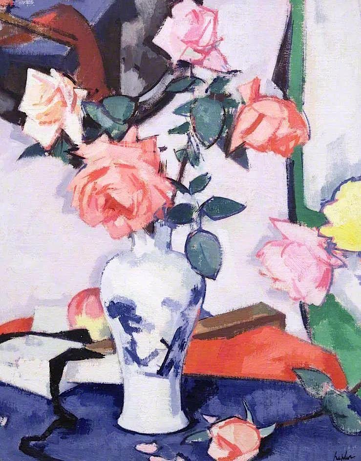 花卉篇,苏格兰色彩画家佩普洛插图43