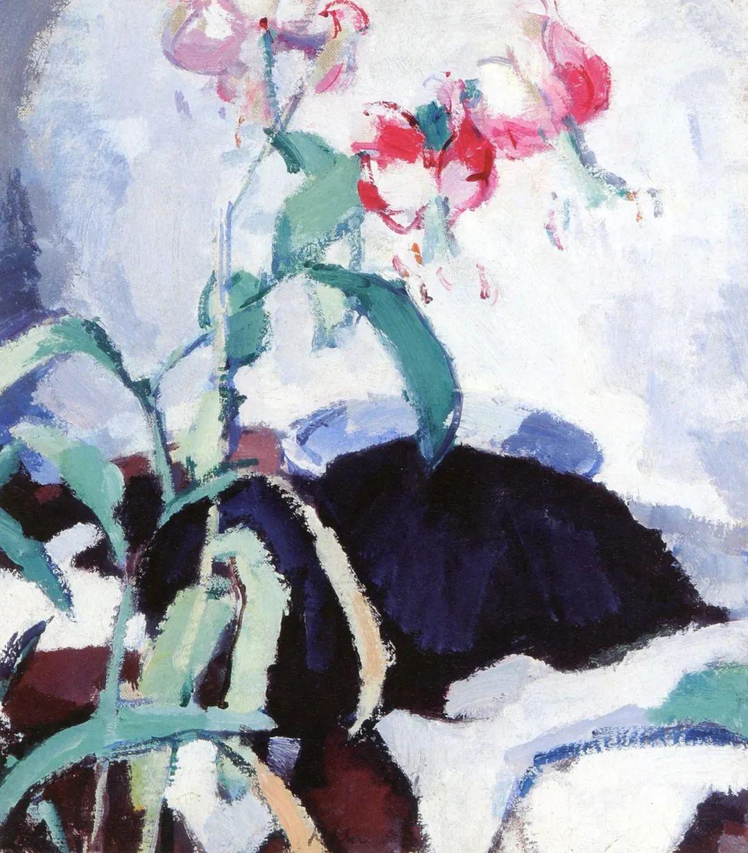 花卉篇,苏格兰色彩画家佩普洛插图45