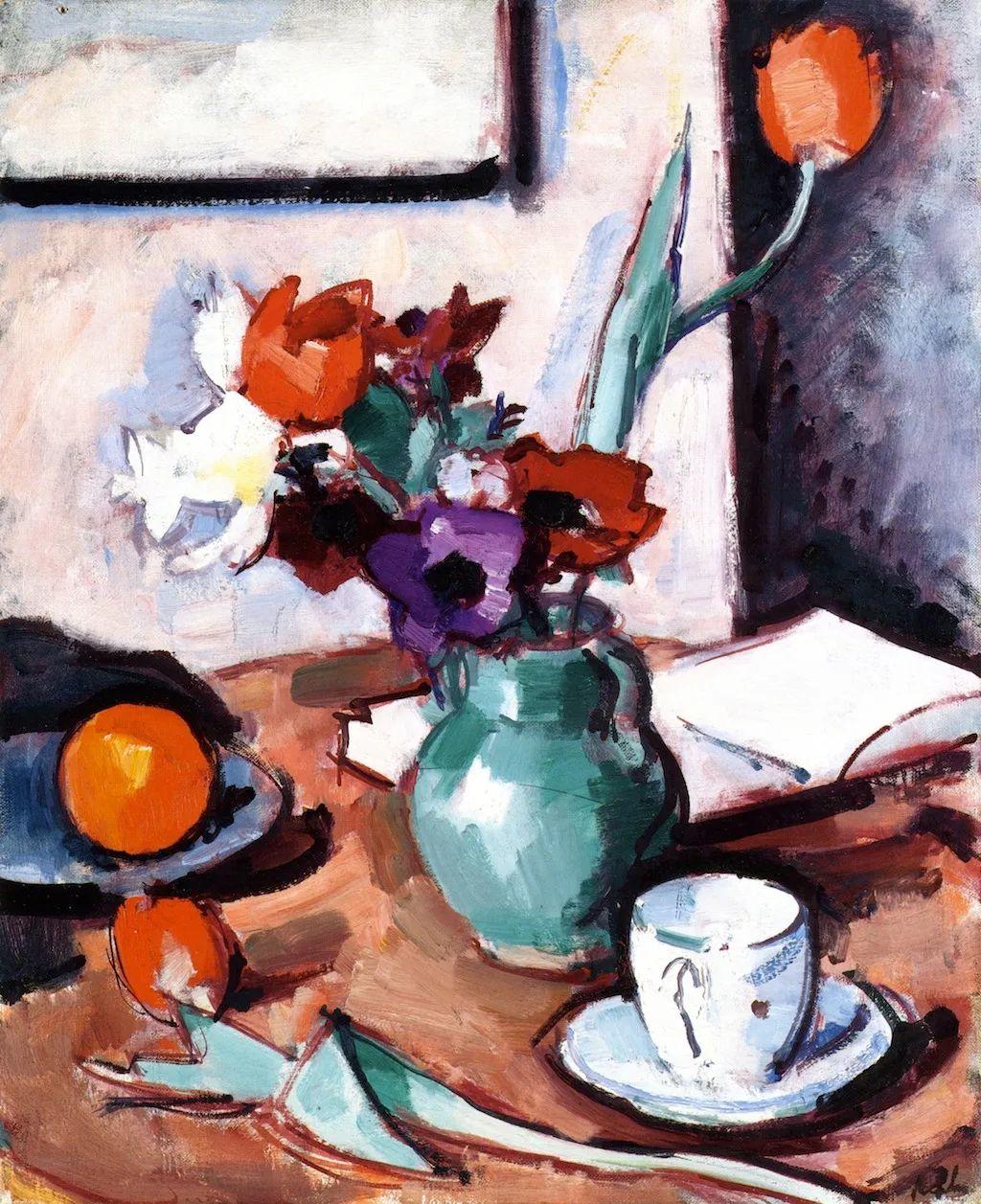 花卉篇,苏格兰色彩画家佩普洛插图49