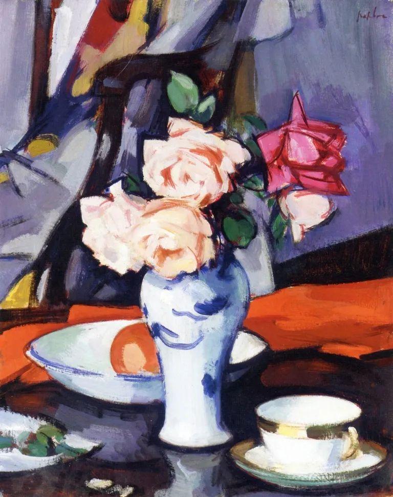 花卉篇,苏格兰色彩画家佩普洛插图63