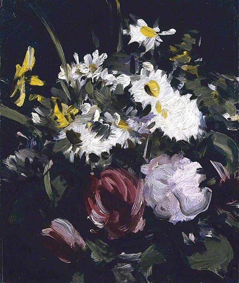 花卉篇,苏格兰色彩画家佩普洛插图65