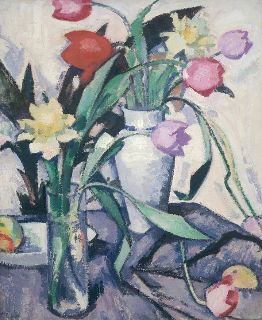 花卉篇,苏格兰色彩画家佩普洛插图87