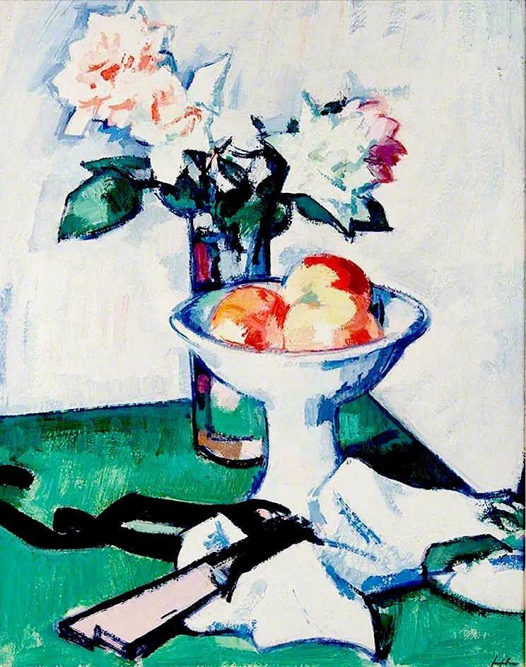 花卉篇,苏格兰色彩画家佩普洛插图95
