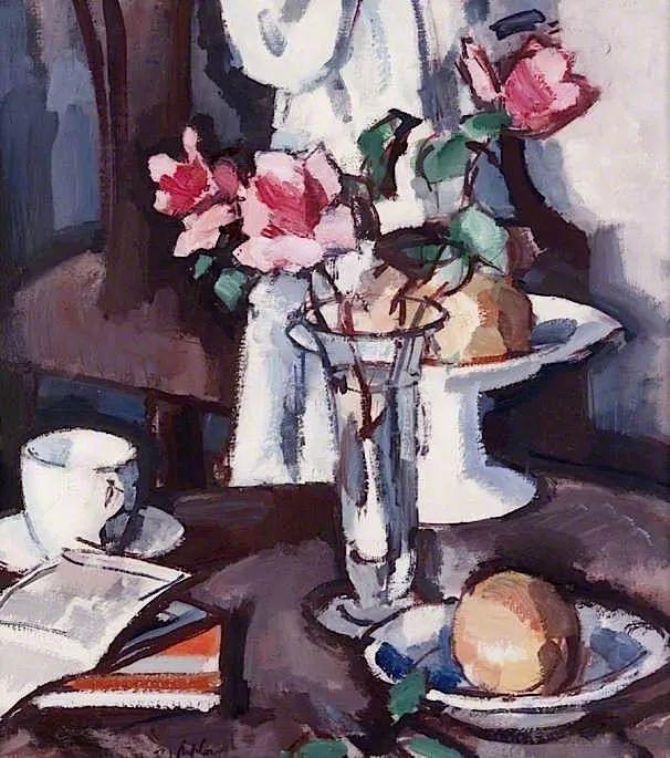 花卉篇,苏格兰色彩画家佩普洛插图99