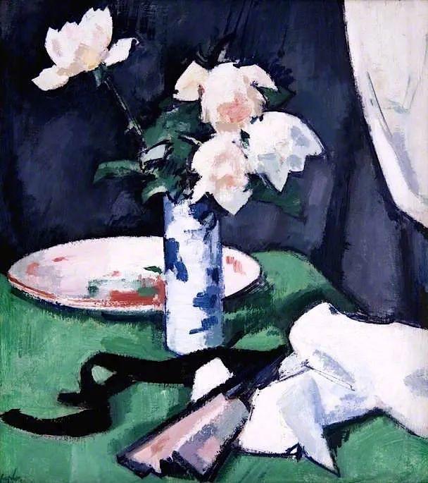 花卉篇,苏格兰色彩画家佩普洛插图103