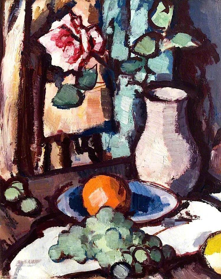 花卉篇,苏格兰色彩画家佩普洛插图105