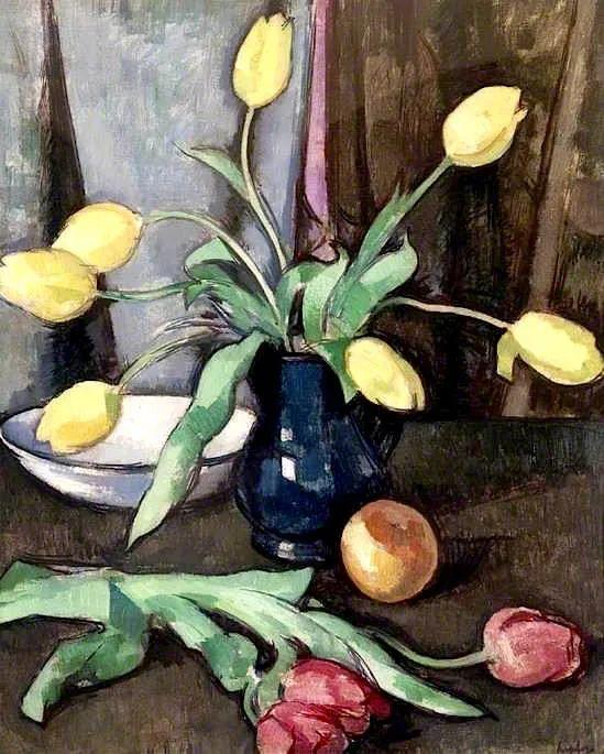 花卉篇,苏格兰色彩画家佩普洛插图107