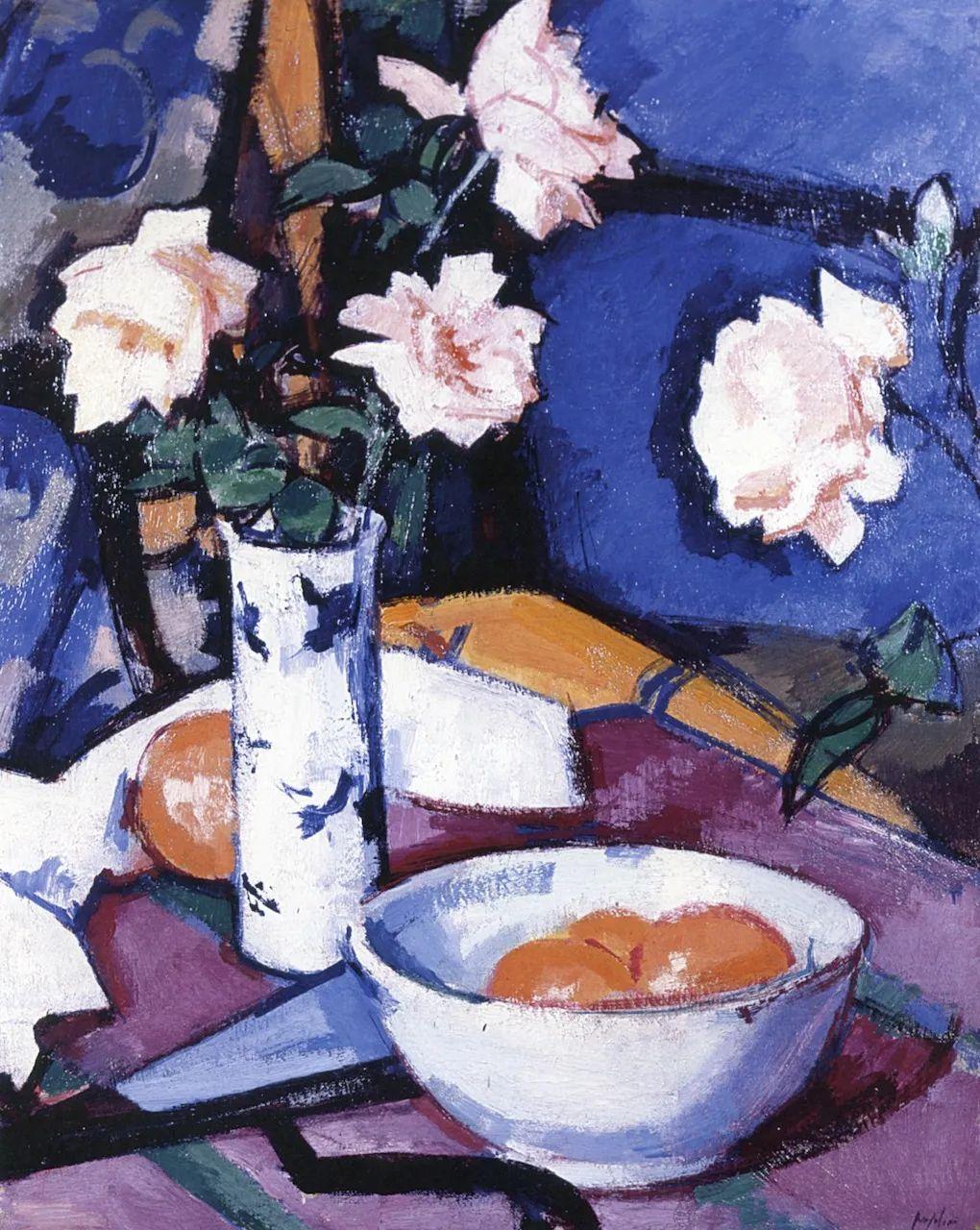 花卉篇,苏格兰色彩画家佩普洛插图109