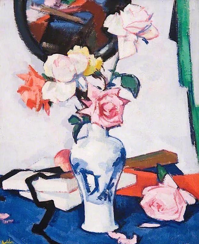 花卉篇,苏格兰色彩画家佩普洛插图113