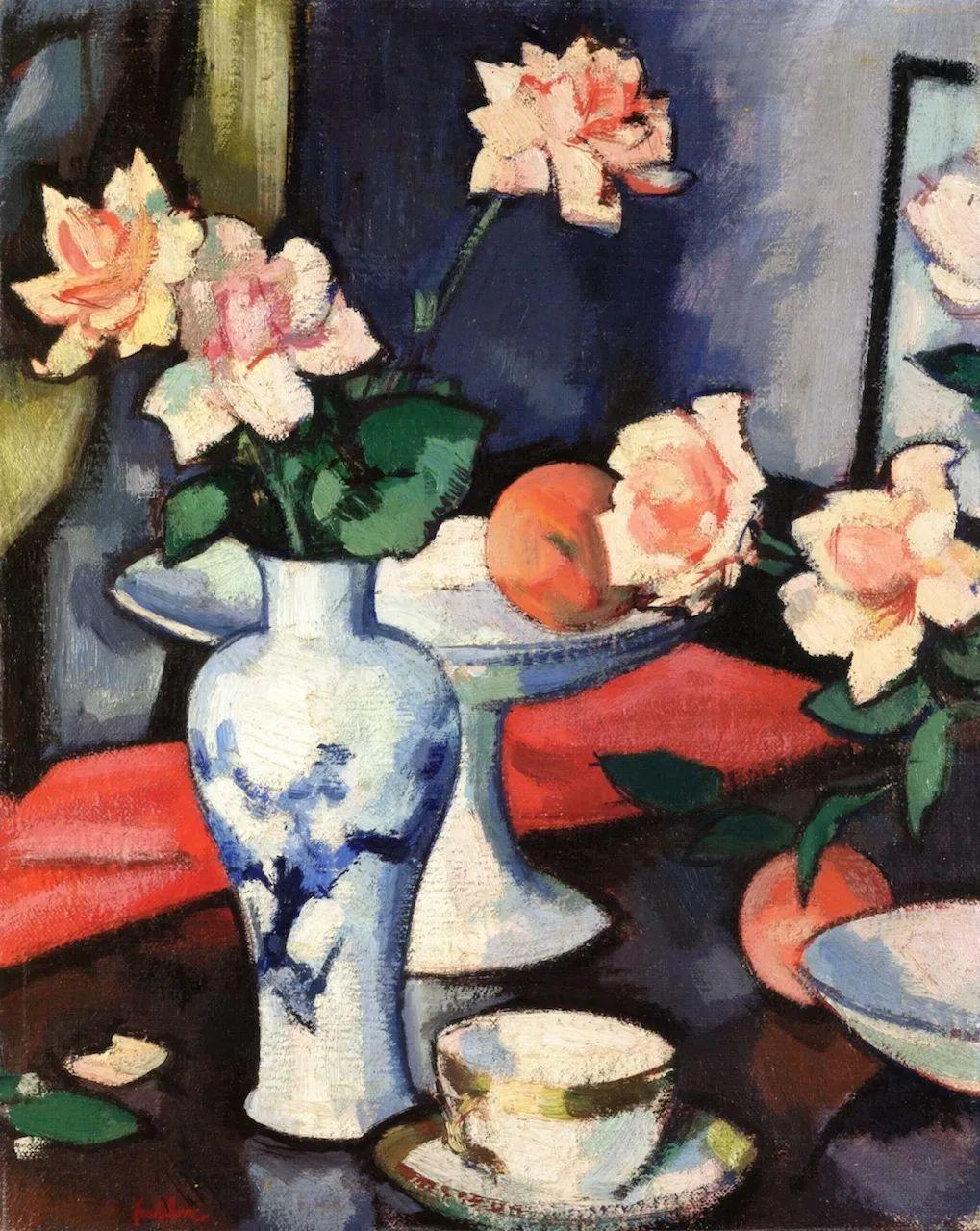 花卉篇,苏格兰色彩画家佩普洛插图115