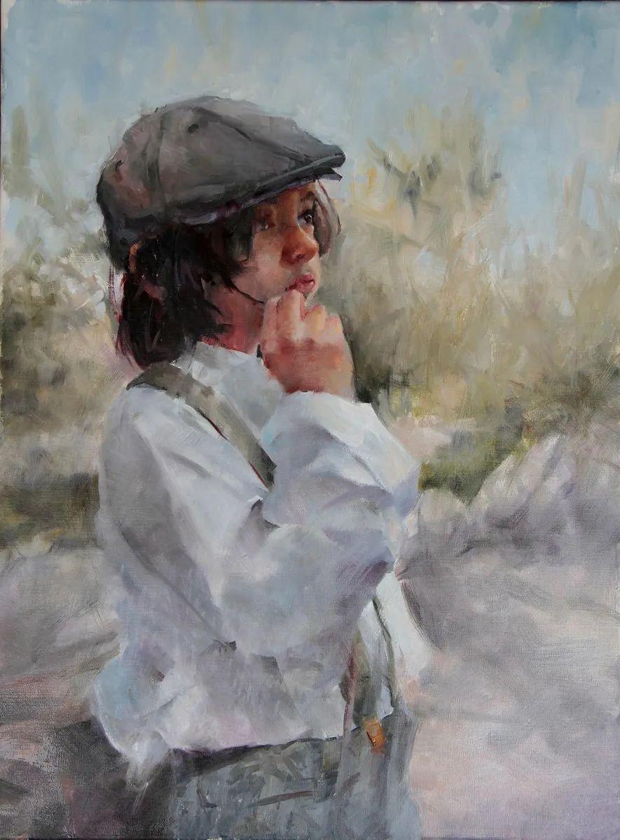 43岁重燃自己对艺术的追求,对绘画的驾驭,令人叹为观止!插图63