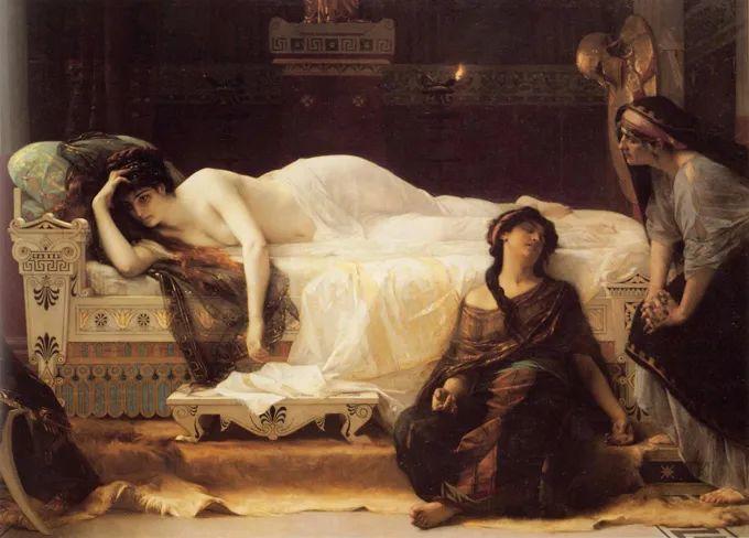 见证实力!法国新古典主义学院派画家,亚历山大·卡巴内尔的油画插图5