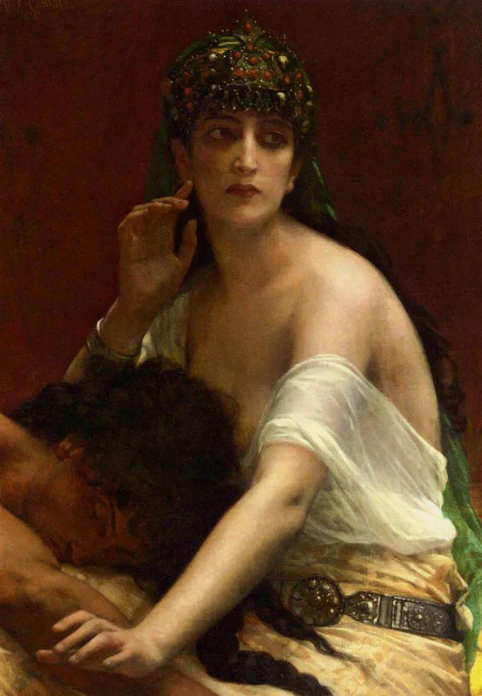 见证实力!法国新古典主义学院派画家,亚历山大·卡巴内尔的油画插图25