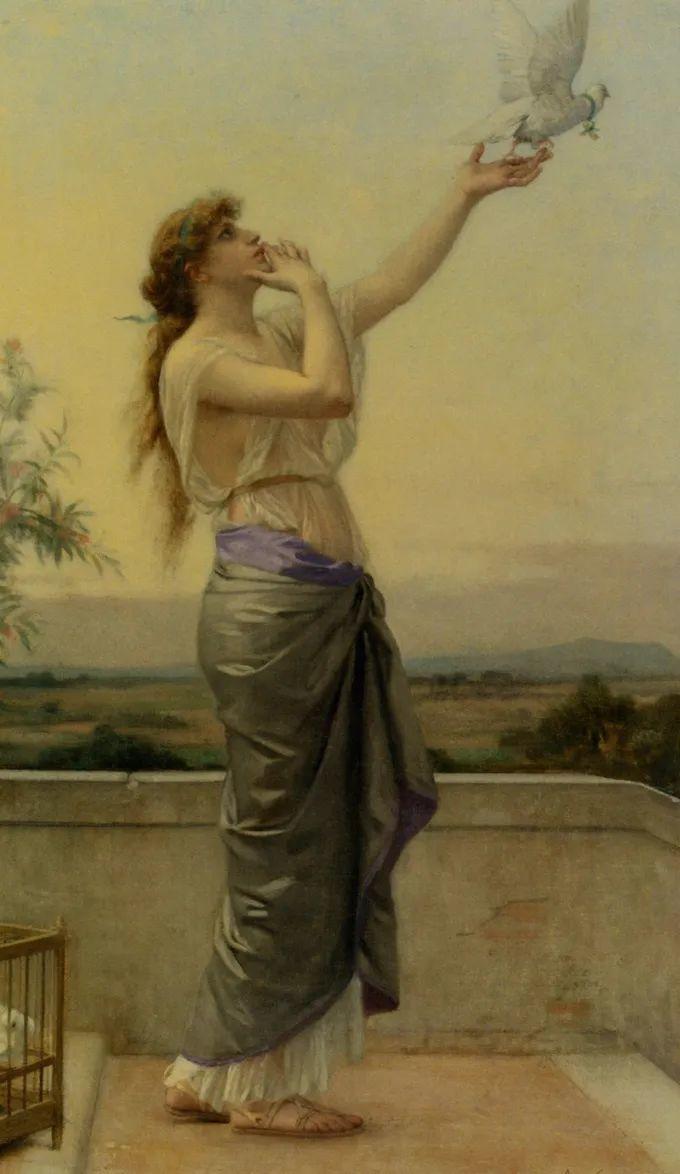 见证实力!法国新古典主义学院派画家,亚历山大·卡巴内尔的油画插图33