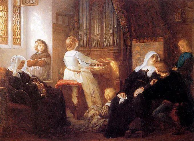 见证实力!法国新古典主义学院派画家,亚历山大·卡巴内尔的油画插图35