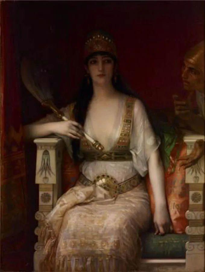见证实力!法国新古典主义学院派画家,亚历山大·卡巴内尔的油画插图37