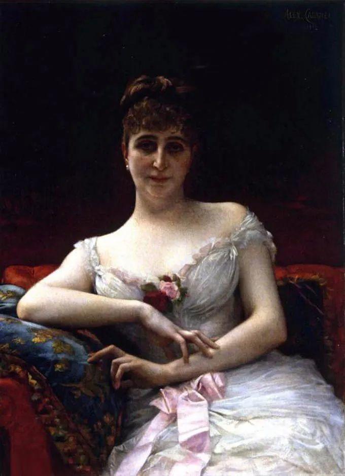 见证实力!法国新古典主义学院派画家,亚历山大·卡巴内尔的油画插图45