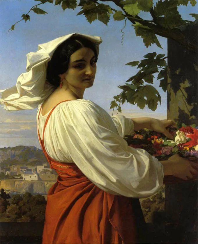 见证实力!法国新古典主义学院派画家,亚历山大·卡巴内尔的油画插图61