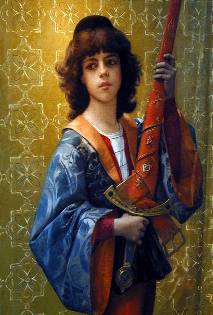 见证实力!法国新古典主义学院派画家,亚历山大·卡巴内尔的油画插图63