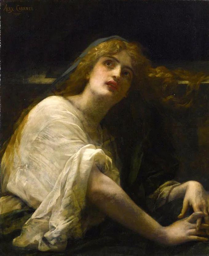 见证实力!法国新古典主义学院派画家,亚历山大·卡巴内尔的油画插图65
