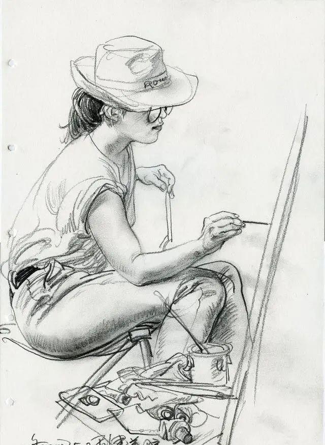风景油画丨画了40年素描的于小冬告诉你,一定学好人体素描结构插图45