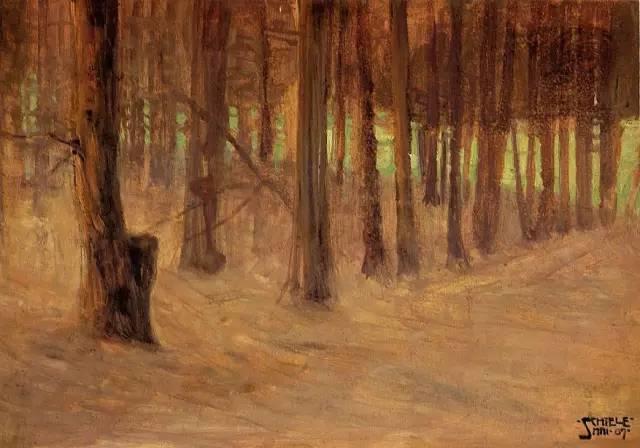 席勒风景油画全集,你肯定没见过插图23