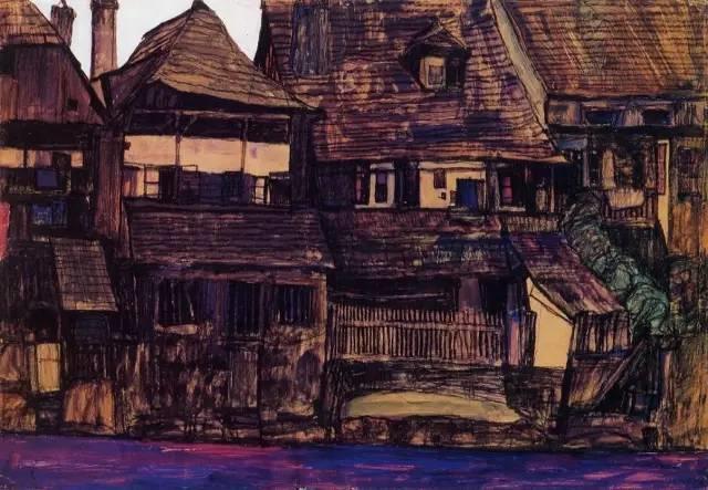 席勒风景油画全集,你肯定没见过插图57
