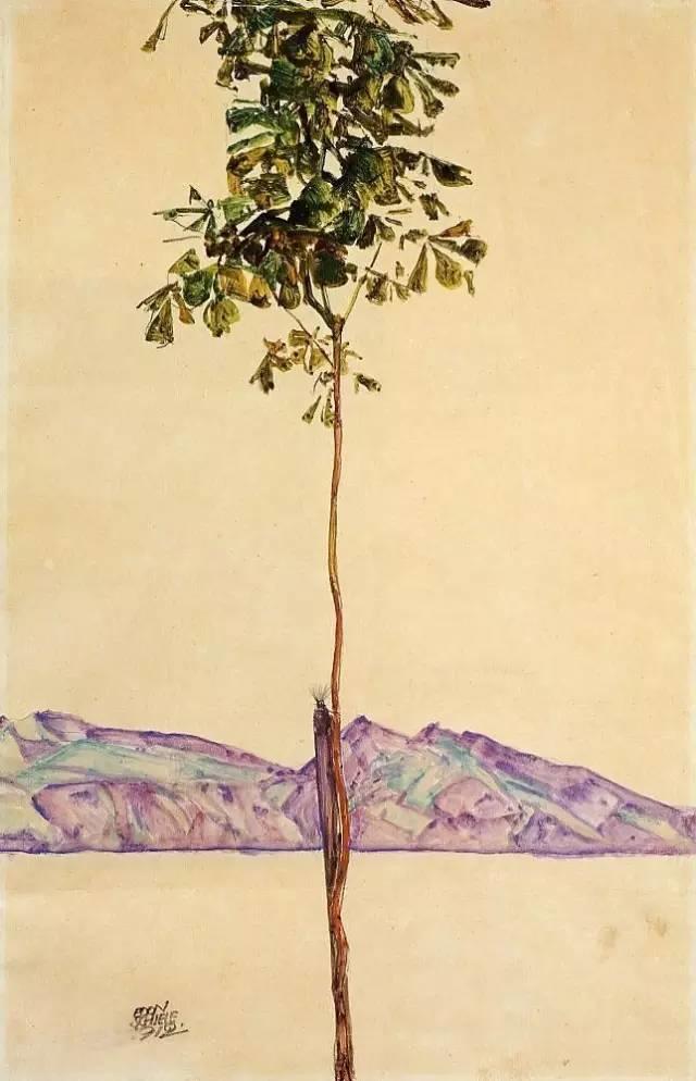 席勒风景油画全集,你肯定没见过插图83
