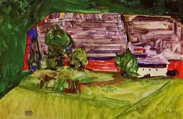 席勒风景油画全集,你肯定没见过插图97