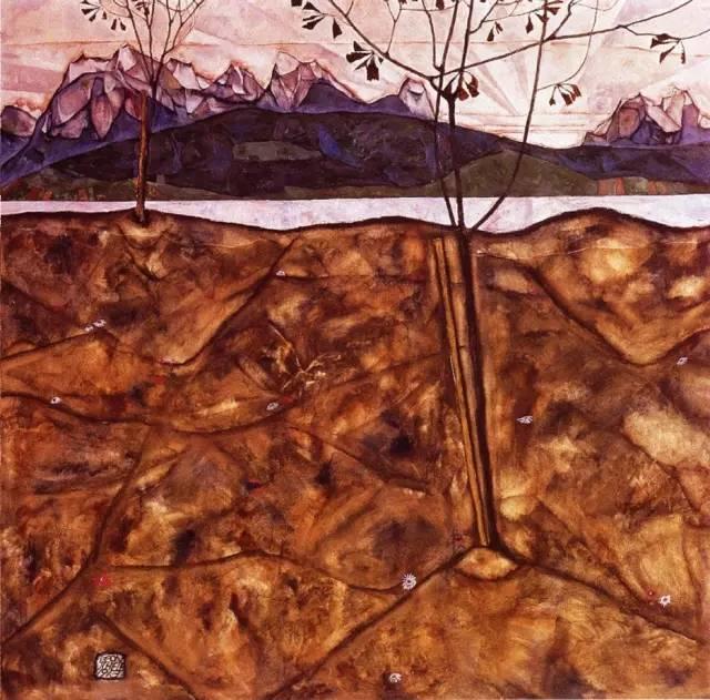 席勒风景油画全集,你肯定没见过插图99