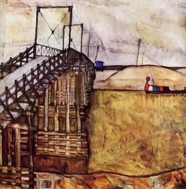 席勒风景油画全集,你肯定没见过插图111
