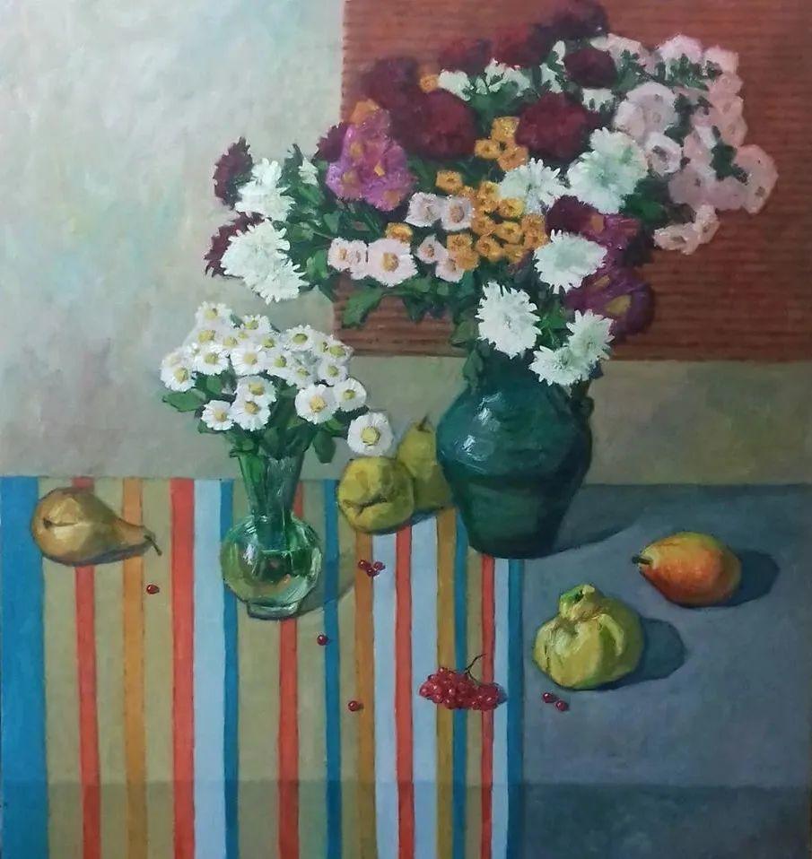 点彩与印象,乌克兰画家罗曼·康斯坦丁诺夫插图59