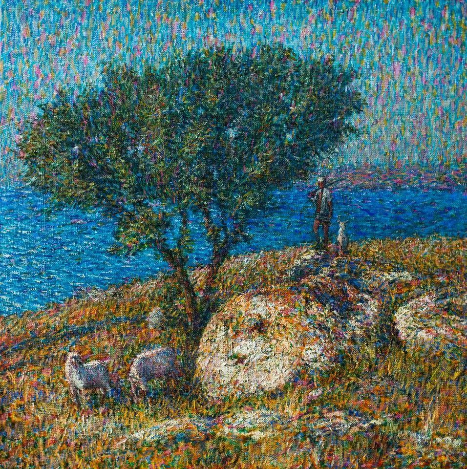 点彩与印象,乌克兰画家罗曼·康斯坦丁诺夫插图39